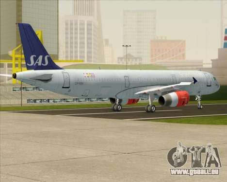 Airbus A321-200 Scandinavian Airlines System für GTA San Andreas