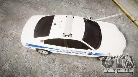 Dodge Charger RT 2013 PS Police [ELS] pour GTA 4 est un droit