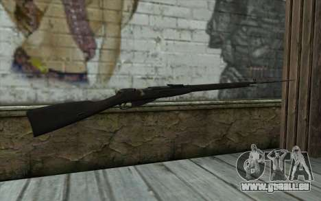 Mosin-v10 pour GTA San Andreas deuxième écran