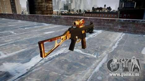 Pistolet UMP45 Élite pour GTA 4 secondes d'écran