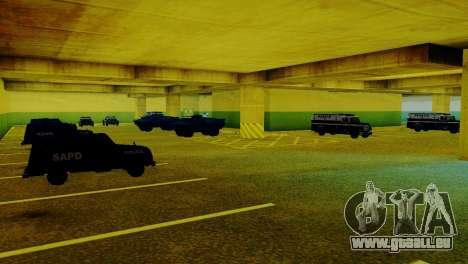 De nouveaux véhicules dans le LVPD pour GTA San Andreas