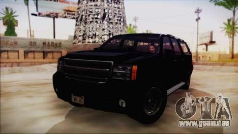 GTA 5 FIB Granger pour GTA San Andreas