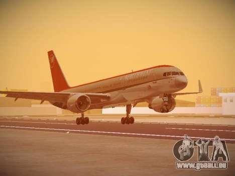 Boeing 757-251 Northwest Airlines für GTA San Andreas linke Ansicht