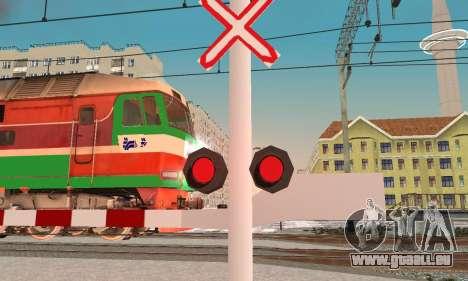 De nouvelles textures pour le trafic ferroviaire pour GTA San Andreas deuxième écran