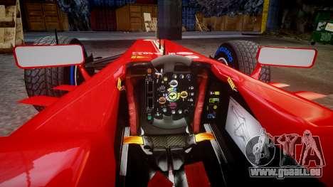 Ferrari F138 v2.0 [RIV] Alonso TFW pour GTA 4 est une vue de l'intérieur