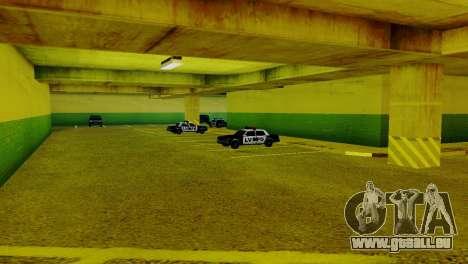 De nouveaux véhicules dans le LVPD pour GTA San Andreas troisième écran
