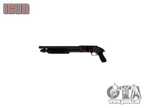 Fusil à pompe Mossberg 500 icon2 pour GTA 4 troisième écran