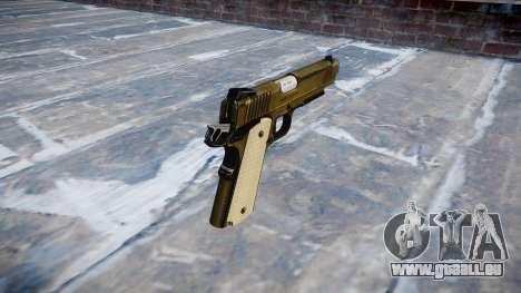 Pistolet Kimber KDW pour GTA 4 secondes d'écran
