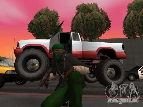 Neue Texturen Räder Monster für GTA San Andreas