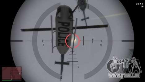 GTA V HUD pour GTA San Andreas troisième écran