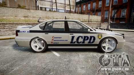 Declasse Merit Police Patrol Speed Enforcement pour GTA 4 est une gauche