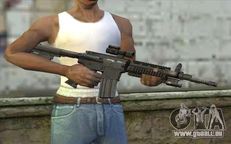 M4 Stuffed pour GTA San Andreas troisième écran
