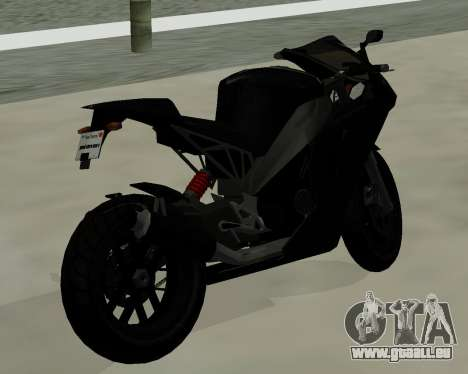 CarbonRS für GTA San Andreas linke Ansicht
