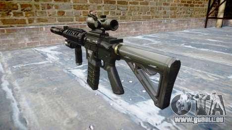 Machine Tactique M4A1 CQB cible pour GTA 4 secondes d'écran