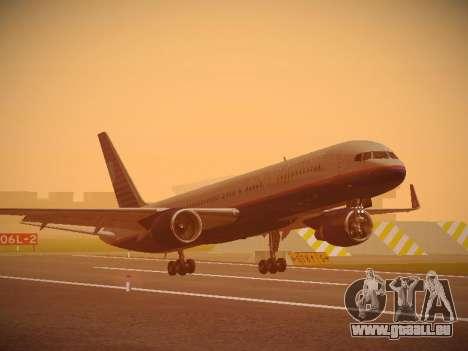Boeing 757-224 United Airlines für GTA San Andreas linke Ansicht