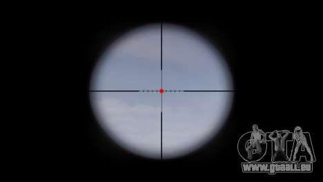 Maschine Taktische M4A1 CQB Ziel für GTA 4 dritte Screenshot