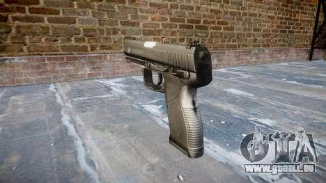 Pistole Taurus 24-7 schwarz icon2 für GTA 4 Sekunden Bildschirm