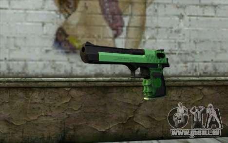 Green Desert Eagle pour GTA San Andreas