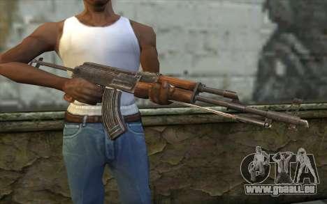 Тип 56-1 (АКМС) de Battlefield: Vietnam pour GTA San Andreas troisième écran