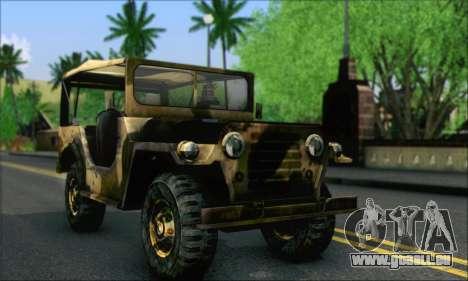 Iguana From Mercenaries 2 World in Flames für GTA San Andreas