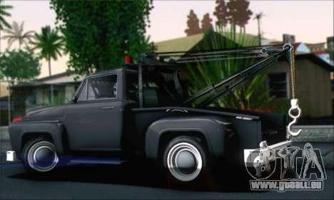GTA 5 Towtruck für GTA San Andreas linke Ansicht