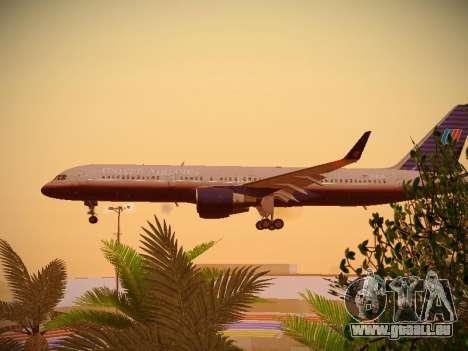 Boeing 757-224 United Airlines pour GTA San Andreas vue intérieure