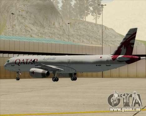 Airbus A321-200 Qatar Airways für GTA San Andreas