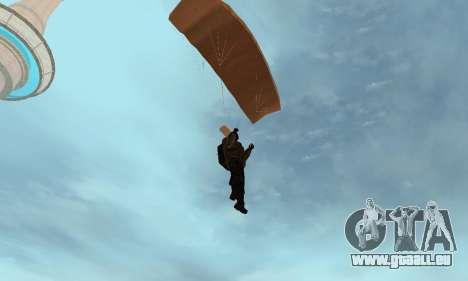 New parachute pour GTA San Andreas cinquième écran