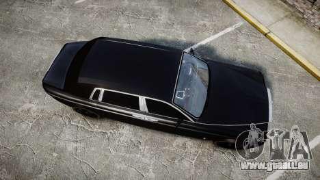 Rolls-Royce Phantom EWB pour GTA 4 est un droit