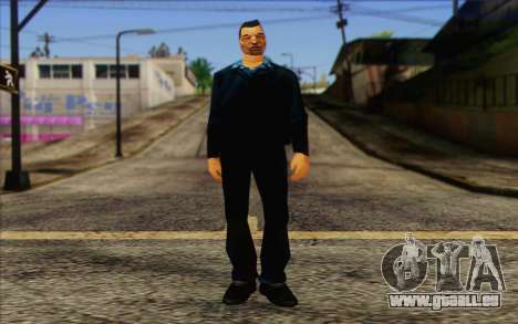 Yakuza from GTA Vice City Skin 2 pour GTA San Andreas
