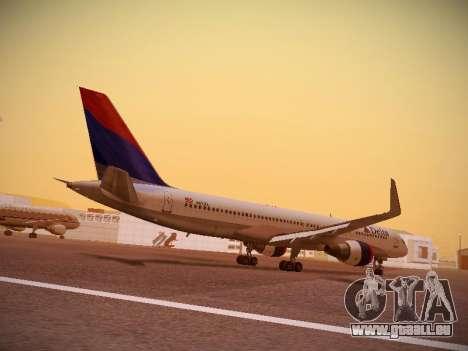 Boeing 757-232 Delta Airlines pour GTA San Andreas vue de droite