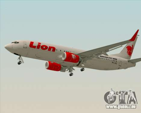 Boeing 737-800 Lion Air für GTA San Andreas linke Ansicht