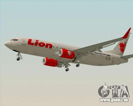 Boeing 737-800 Lion Air für GTA San Andreas linke Ansicht