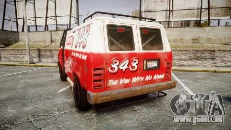 Kessler Stowaway Simpson für GTA 4 hinten links Ansicht