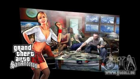 Les écrans de chargement pour GTA San Andreas troisième écran