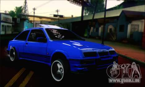 Ford Sierra Stanced pour GTA San Andreas