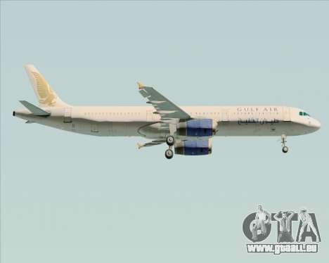 Airbus A321-200 Gulf Air für GTA San Andreas Motor