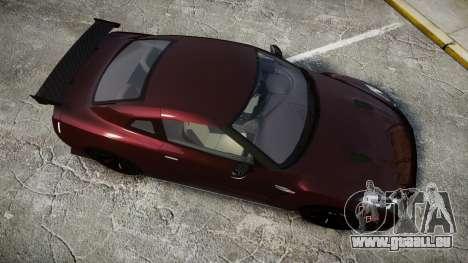 Nissan GT-R R35 Nismo für GTA 4 rechte Ansicht