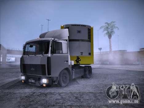 Trailer NETTO pour GTA San Andreas sur la vue arrière gauche