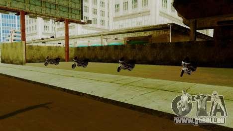 Neue Fahrzeuge im LSPD für GTA San Andreas dritten Screenshot