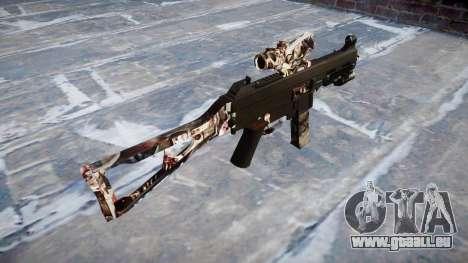 Pistolet UMP45 Zombies pour GTA 4 secondes d'écran