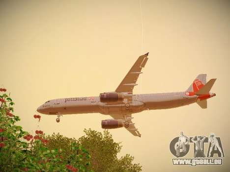 Airbus A321-232 jetBlue Boston Red Sox pour GTA San Andreas moteur