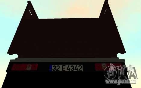Mitsubishi Fuso 2010 für GTA San Andreas rechten Ansicht