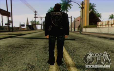 Johnny Klebitz From GTA 5 pour GTA San Andreas deuxième écran