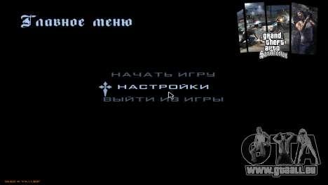 Die loading screens für GTA San Andreas achten Screenshot