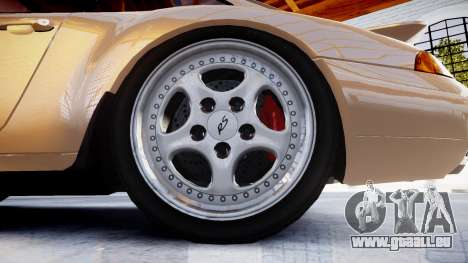 Porsche 911 Carrera RS 993 1995 für GTA 4 Rückansicht
