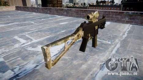 Gun UMP45 DEVGRU für GTA 4 Sekunden Bildschirm