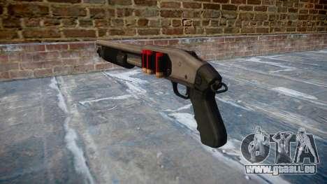 Riot-Flinte Mossberg 500 icon2 für GTA 4 Sekunden Bildschirm