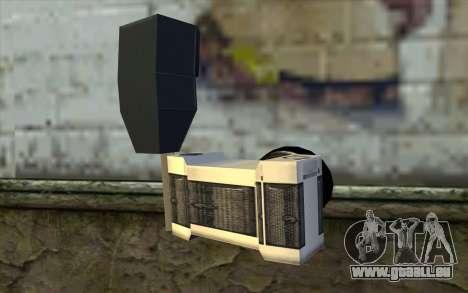 Camera from Beta Version pour GTA San Andreas deuxième écran