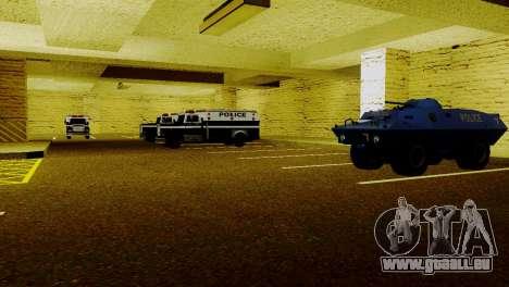 Neue Fahrzeuge im LSPD für GTA San Andreas her Screenshot
